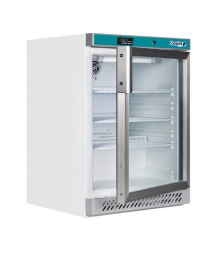 SM165G Glass Door Pharmacy Refrigerator