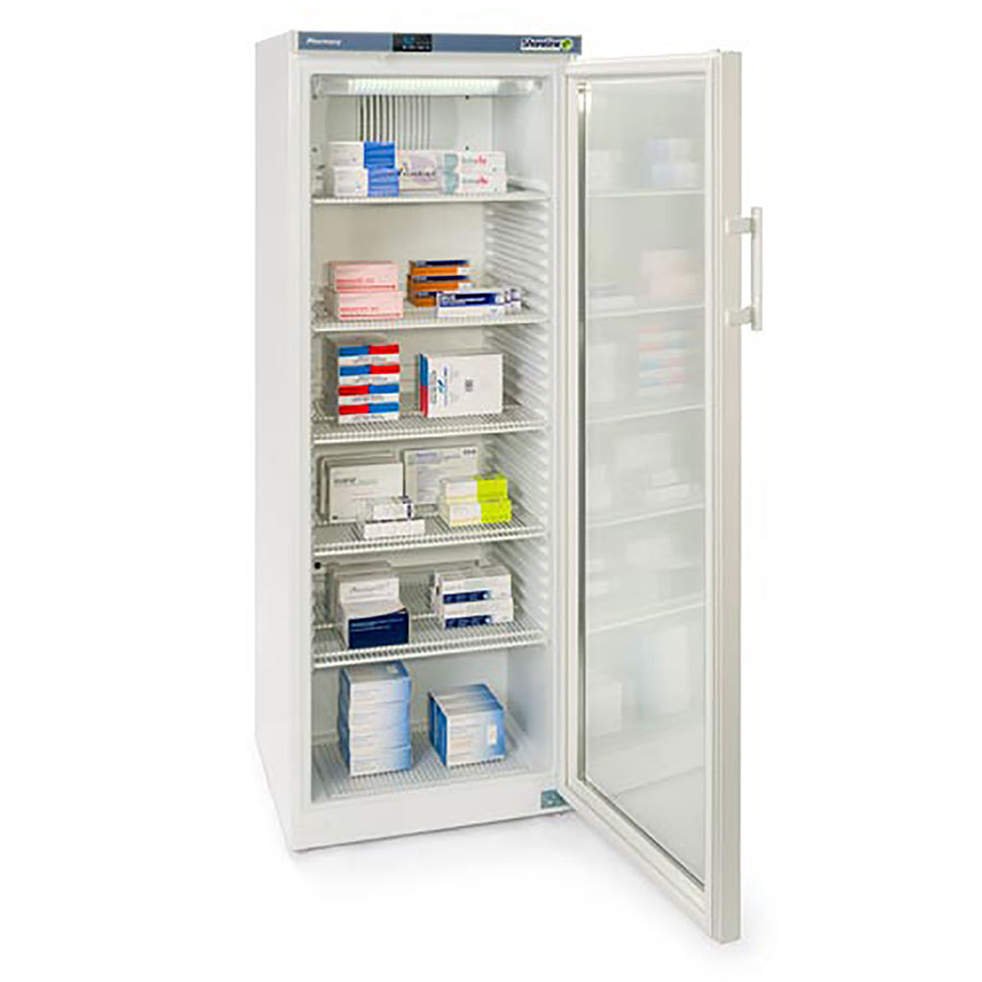 Glass Door Home Refrigerator Sm364g Glass Door Pharmacy Refrigerator 335 Litre Shoreline