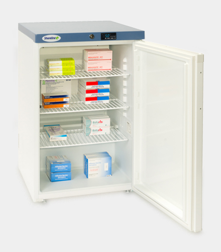 SM1502 Solid Door Pharmacy Refrigerator
