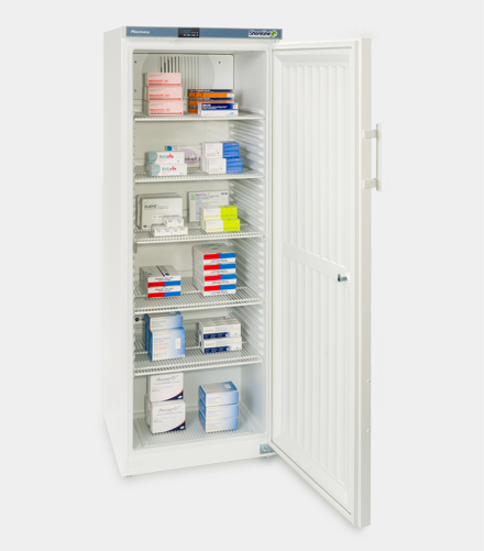 SM364 Solid Door Pharmacy Refrigerator