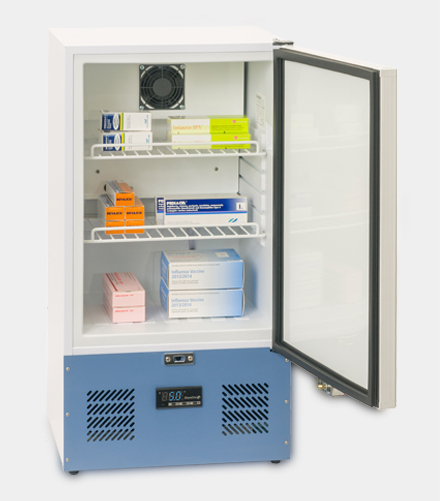 SM45 Solid Door Pharmacy Refrigerator